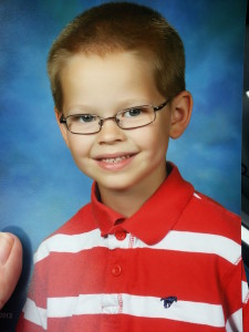 Oliver's 1st Grade Pictures